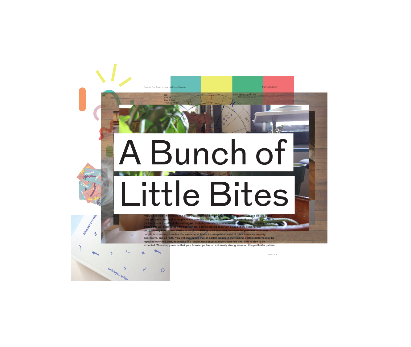 A Bunch of Little Bites